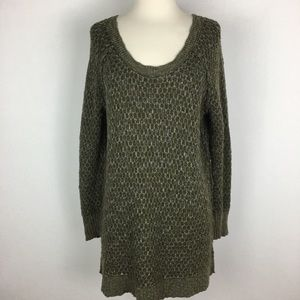 Free People Olive Green Sweater size Small